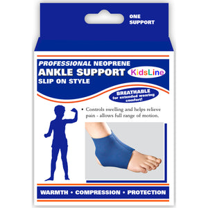 0317 / KIDSLINE SLIP-ON ANKLE SUPPORT / PACKAGING