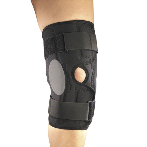 OTC 2549, Orthotex Knee Stabilizer Wrap with ROM Hinged Bars