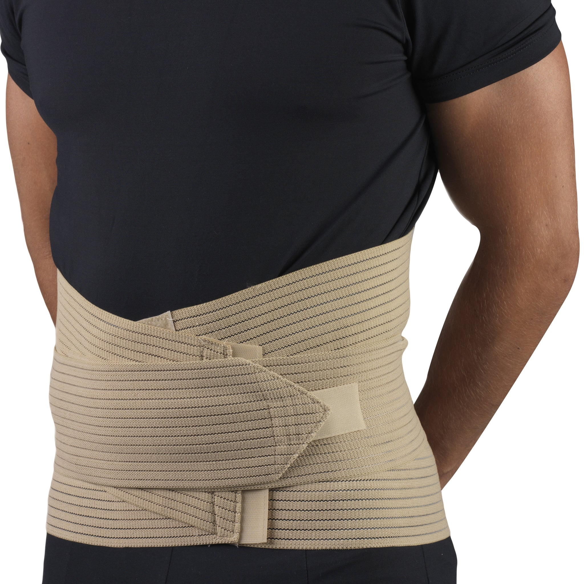 --Side view of LUMBOSACRAL SUPPORT - ABDOMINAL UPLIFT--