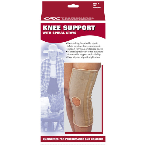 Front packaging KNEE SUPPORT - SPIRAL STAYS