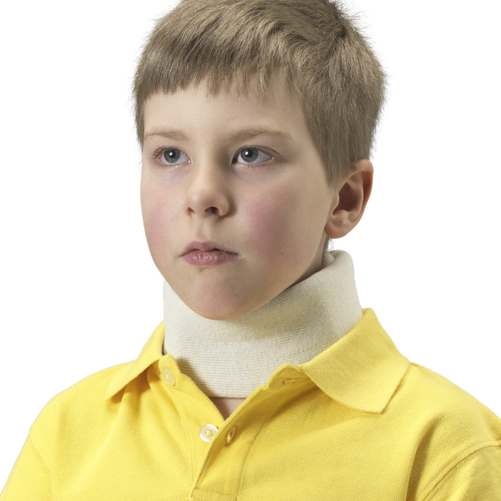 --Front of KIDSLINE CERVICAL COLLAR - SOFT FOAM--