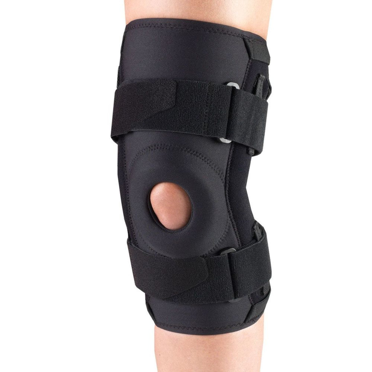 --Front of ORTHOTEX KNEE STABILIZER - HINGED BARS--