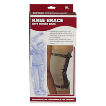 Front packaging of KNEE BRACE - HINGED BARS