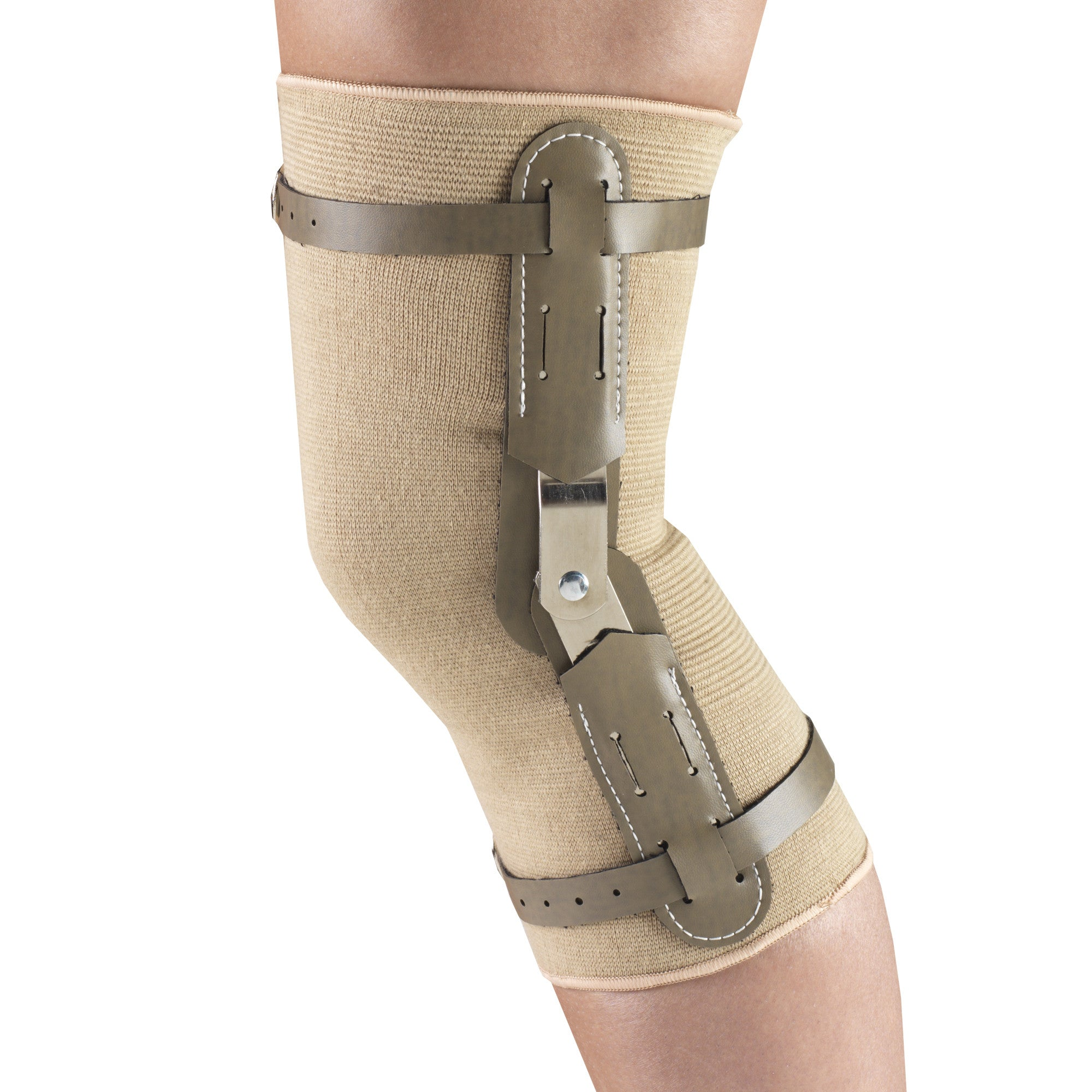 --Side of KNEE BRACE - HINGED BARS --