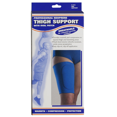 Front packaging of NEOPRENE THIGH SUPPORT