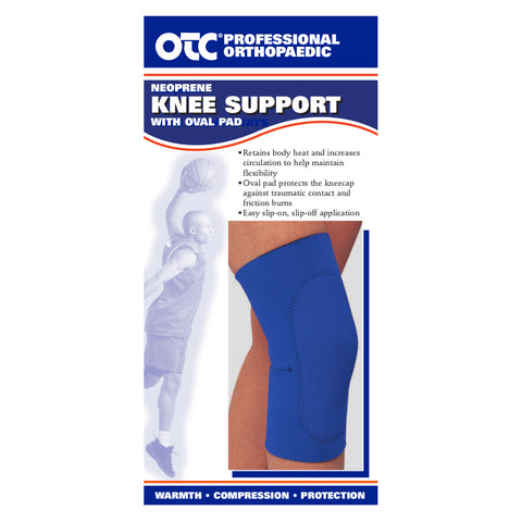 Front packaging of NEOPRENE KNEE SLEEVE - OVAL PAD