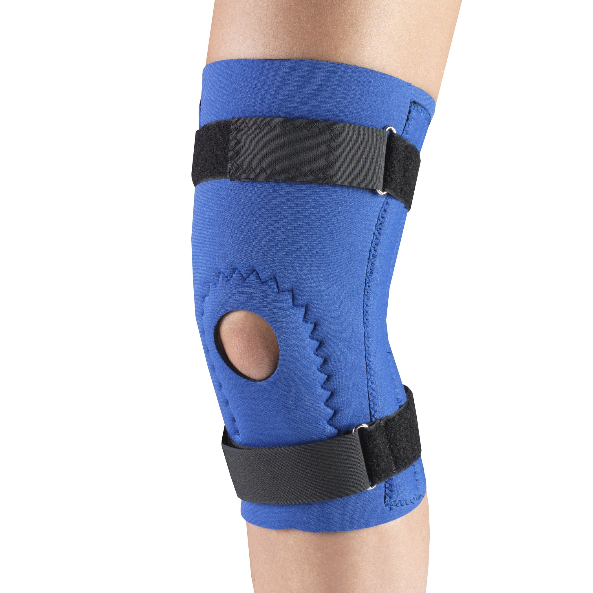 --Side of NEOPRENE KNEE SLEEVE - HOR-SHU PAD, SPIRAL STAYS--