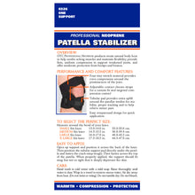 0326 / NEOPRENE PATELLAR STABILIZER / PACKAGING