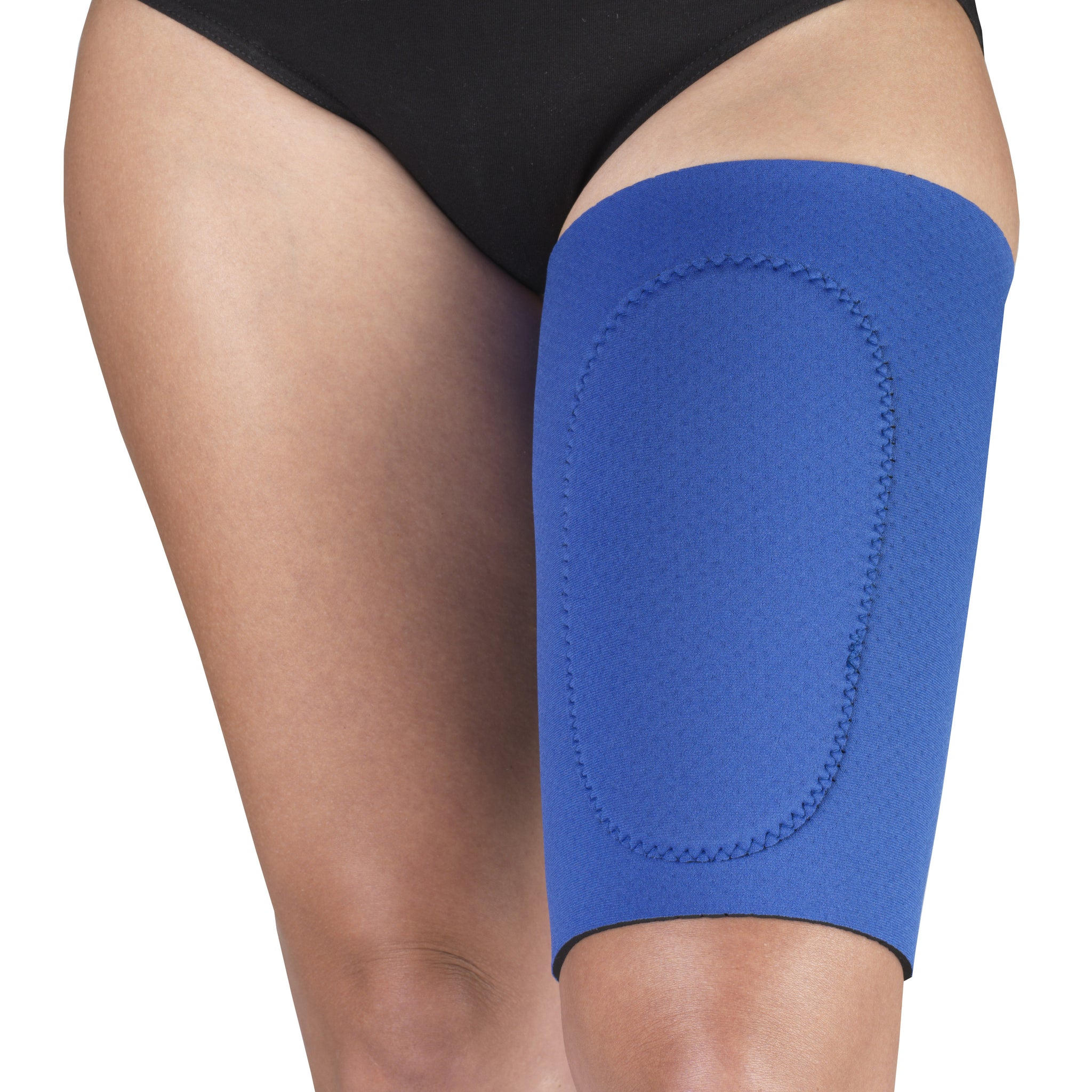 --Front of NEOPRENE THIGH SUPPORT--