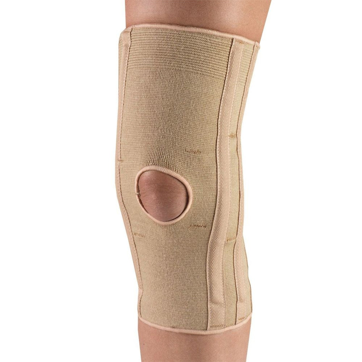 --Front of KNEE SUPPORT - CONDYLE PADS--