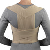 Rear of POSTURE SUPPORT LIGHTWEIGHT ELASTIC