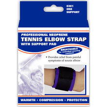 0301 / NEOPRENE ELBOW STRAP - PRESSURE PAD / PACKAGING