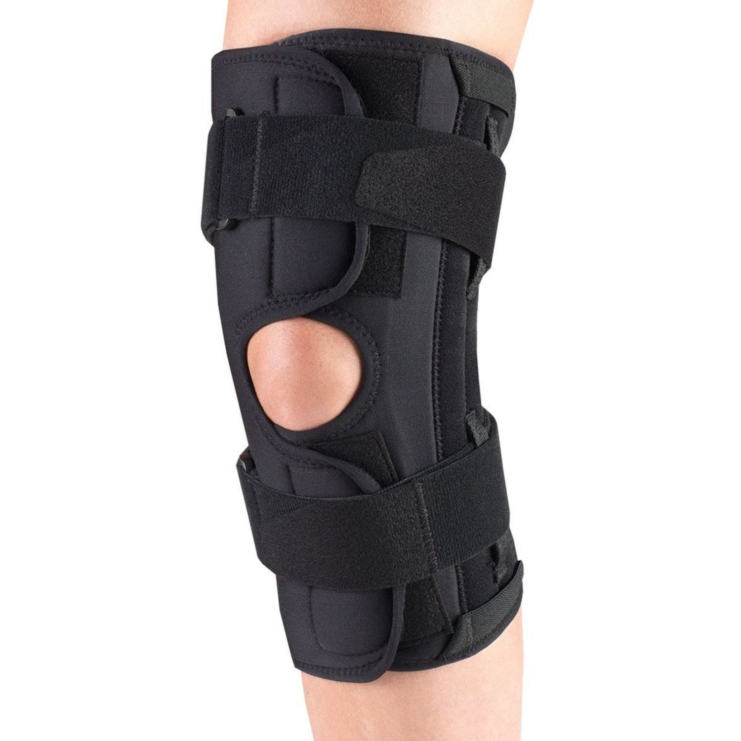 --Front of ORTHOTEX KNEE STABILIZER WRAP - SPIRAL STAYS--