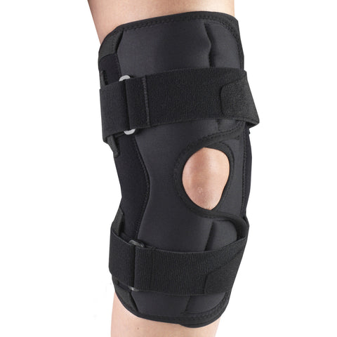 Side of ORTHOTEX KNEE STABILIZER WRAP - HINGED BARS