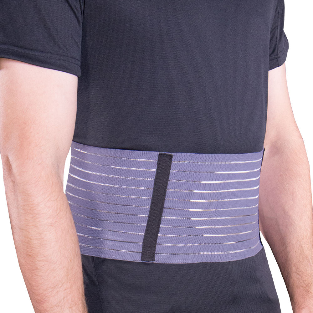 --Side view of SELECT SERIES ABDOMINAL HERNIA SUPPORT--