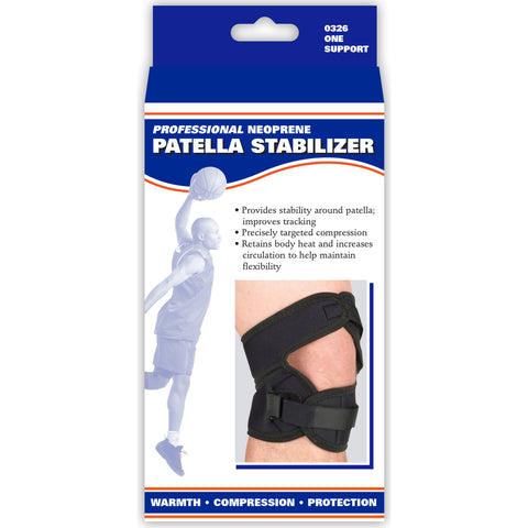 Front packaging of NEOPRENE PATELLAR STABILIZER
