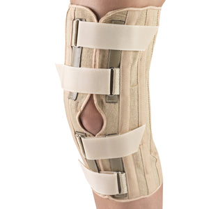 Front of KNEE SUPPORT - CONDYLE PADS, FRONT OPENING