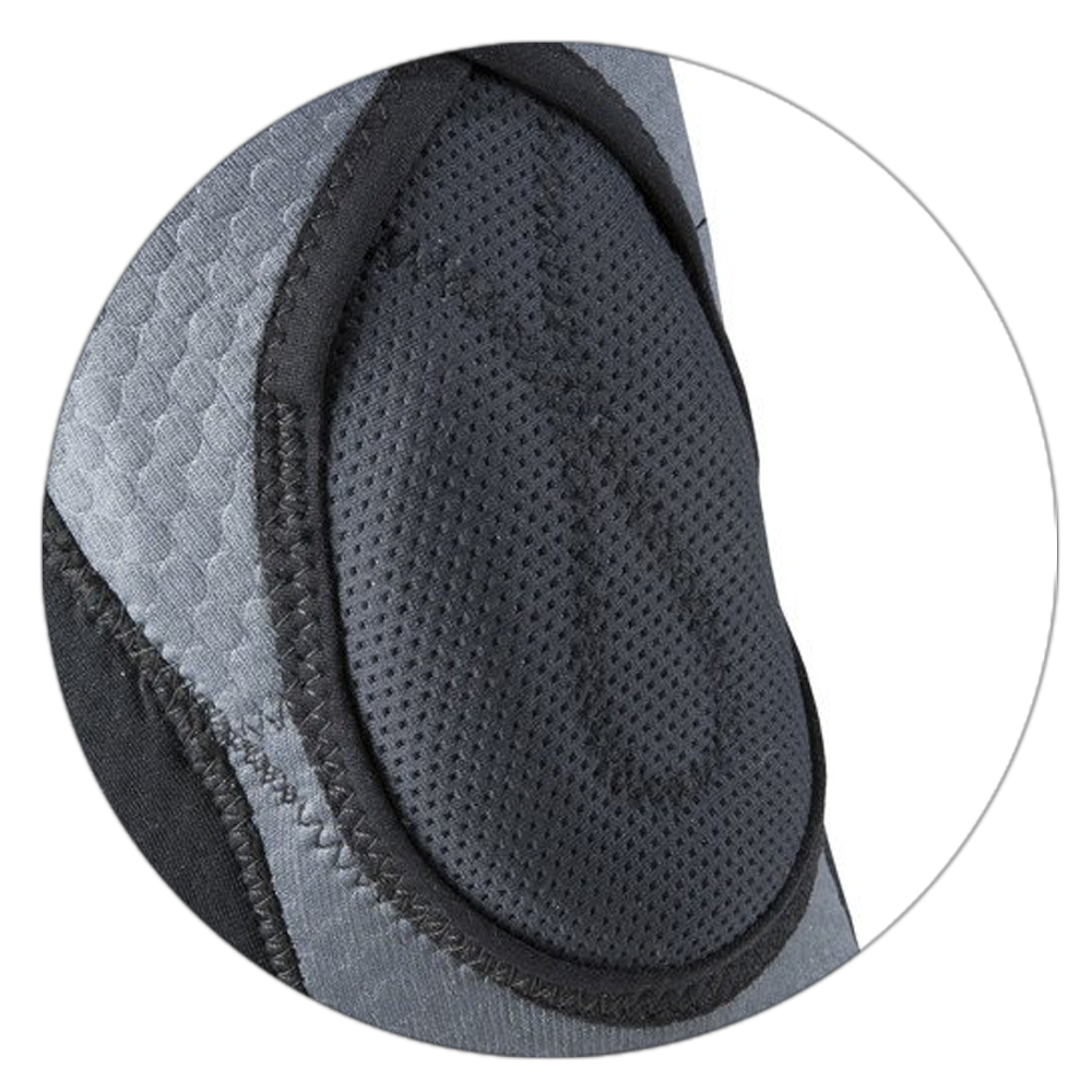 inverted u-shaped buttress pad