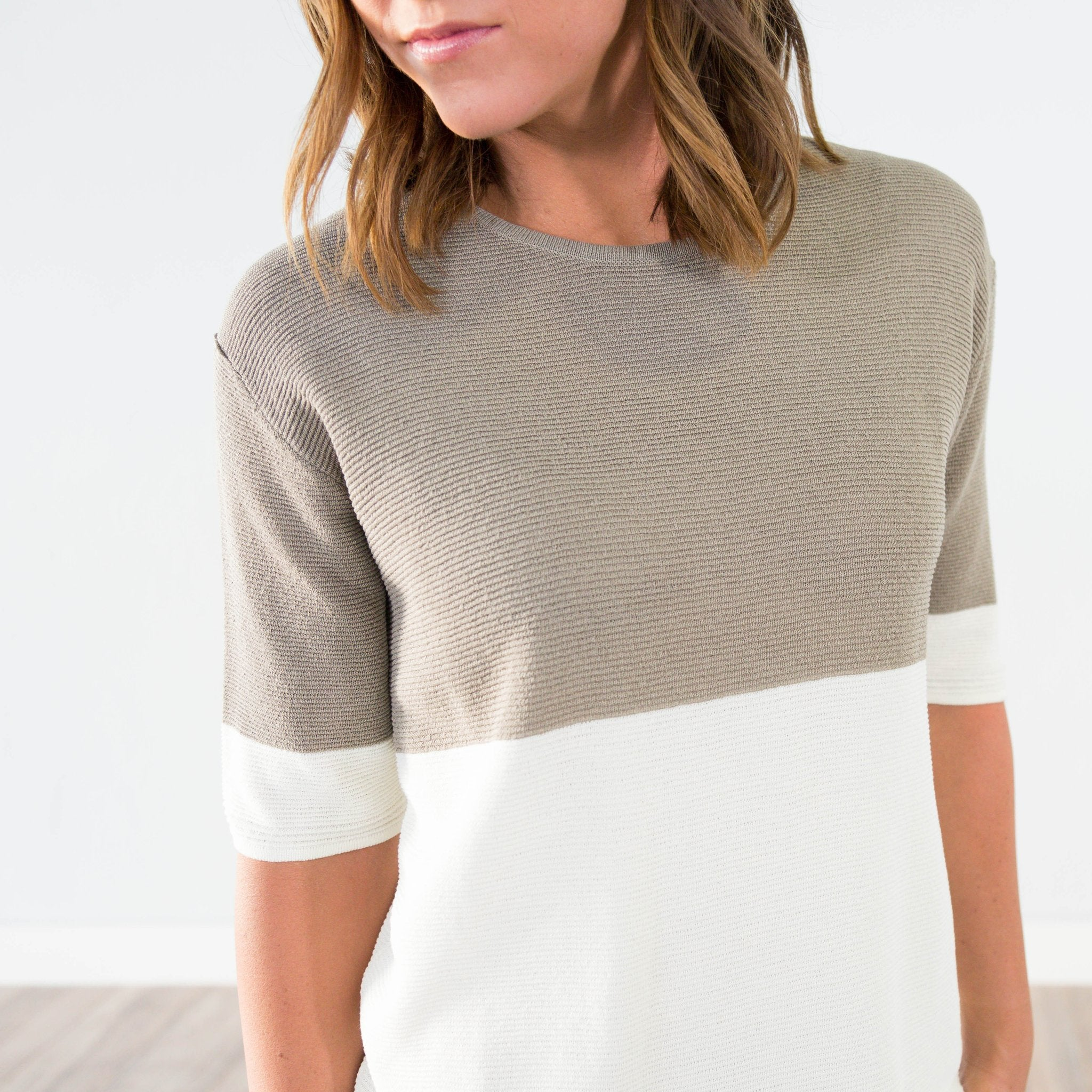 Charlie Two Tone Top