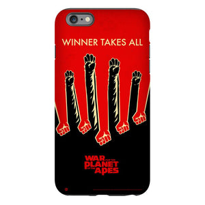 War for the Planet of the Apes Winner Takes All Phone Case