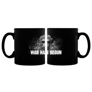War for the Planet of the Apes War Has Begun Black Mug