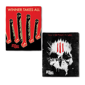 War for the Planet of the Apes Winner Takes All Fleece Blanket