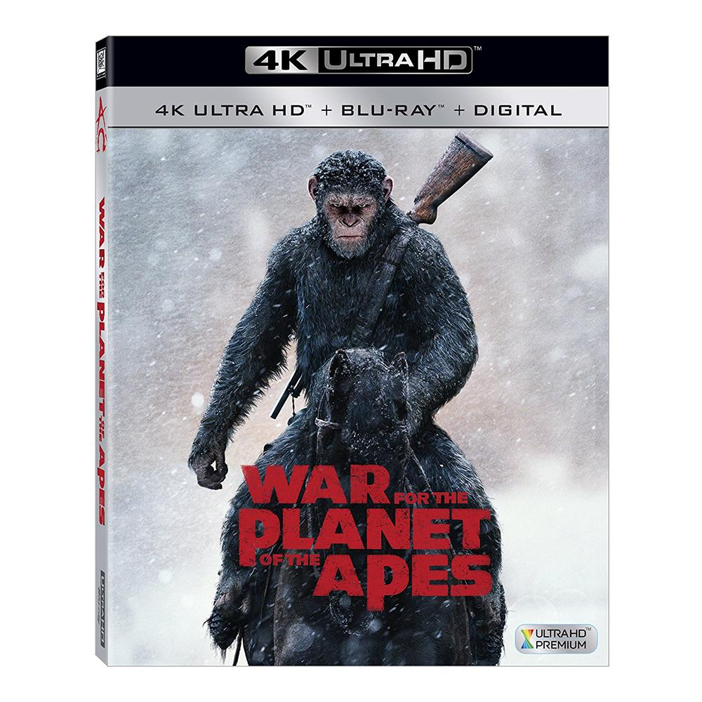 War for the Planet of the Apes 4K Ultra HD