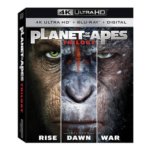 Planet of the Apes Trilogy 4K Ultra HD