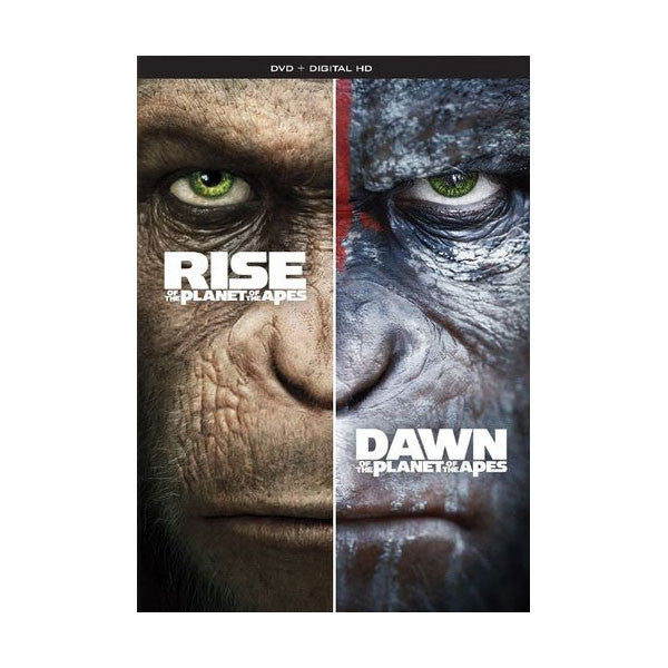 Rise of the Planet of the Apes / Dawn of the Planet of the Apes Double Feature