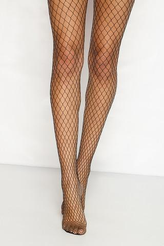 Coco Diamond Fishnet Tights