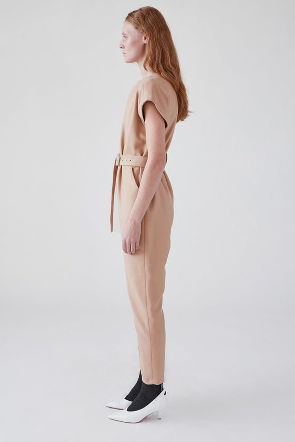 Ranks Jumpsuit Camel