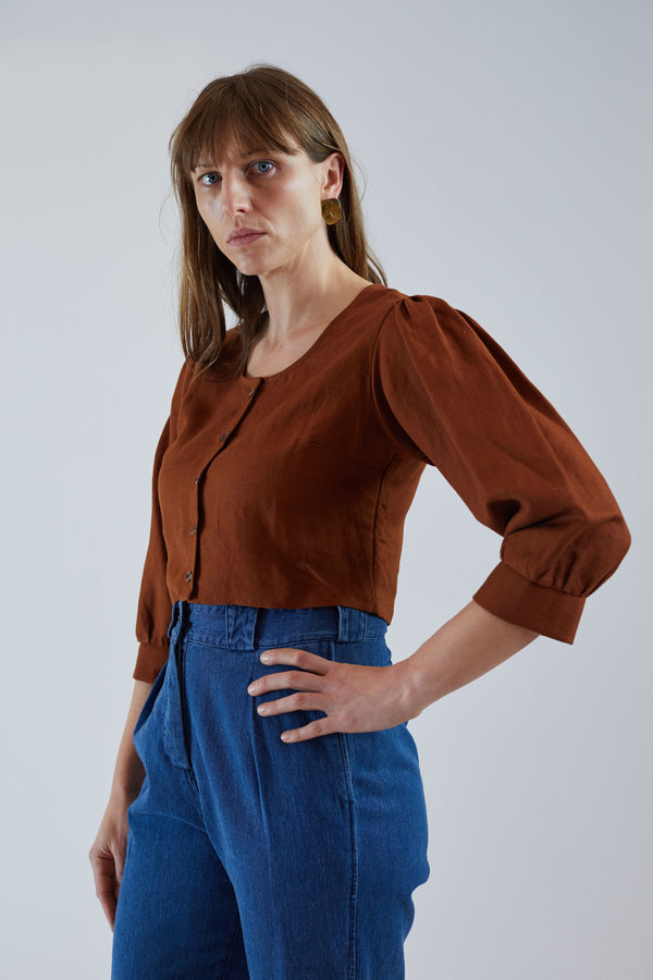 Jude Blouse Ginger