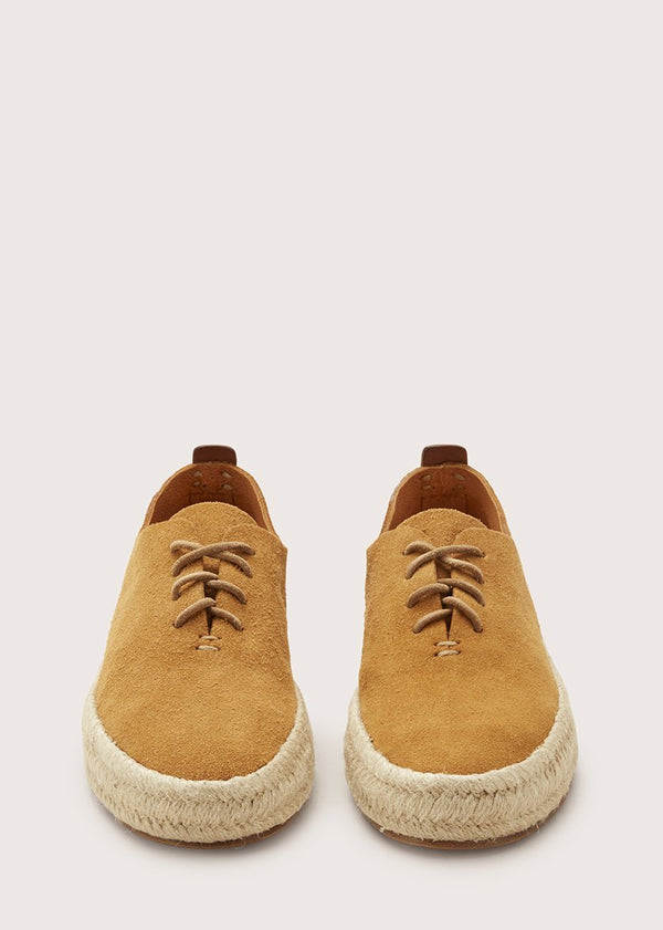 Espadrille Hand Sewn Court Tan
