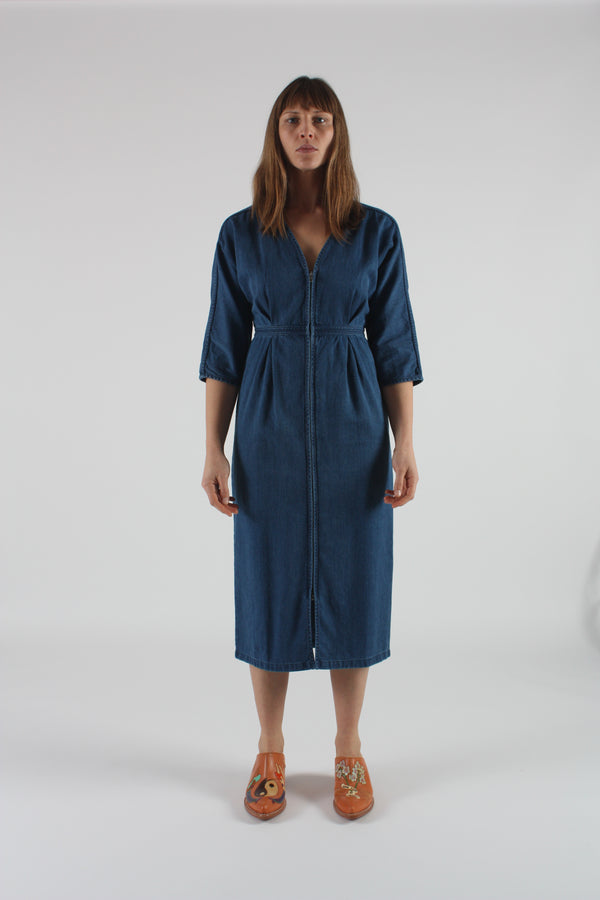 Annetta Dress Denim