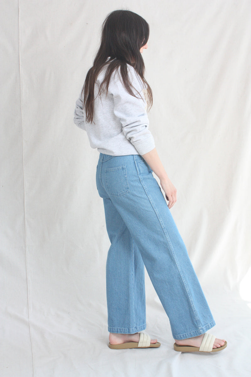 Ombre Sweater Flax