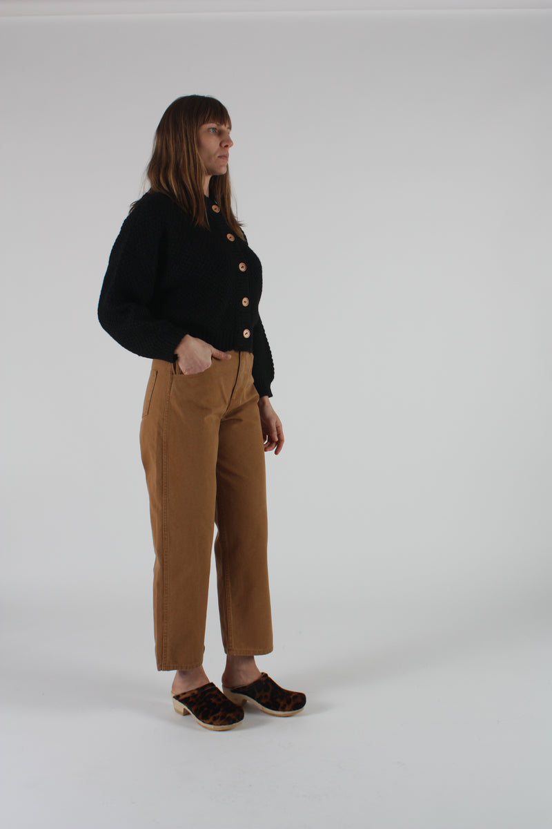 Relaxed Jeans Wheat