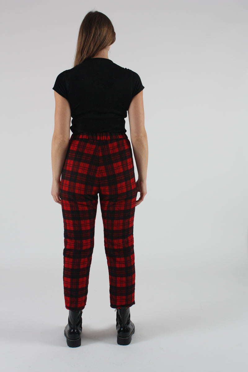 Arche Pant Red Flannel