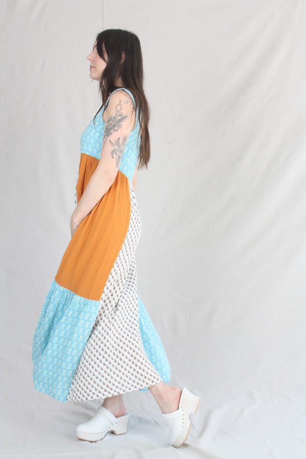 Pepper Dress Classic Indigo