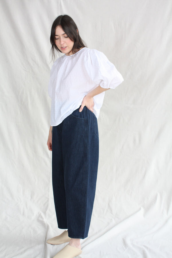 Narrow Cargo Trouser Natural
