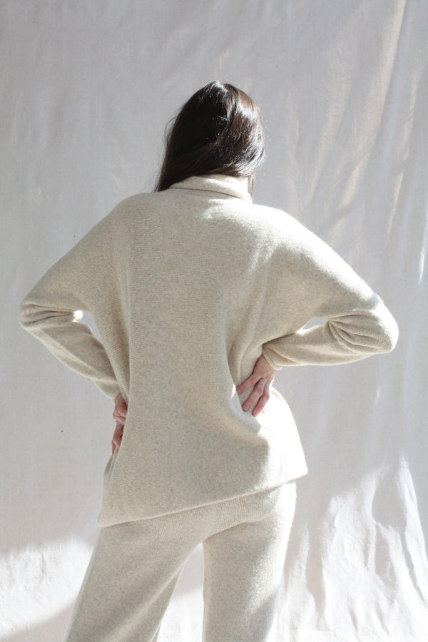 Emilia Boot Off White