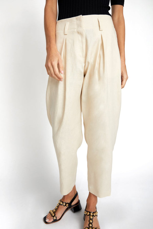 Hollis Pant Natural Linen