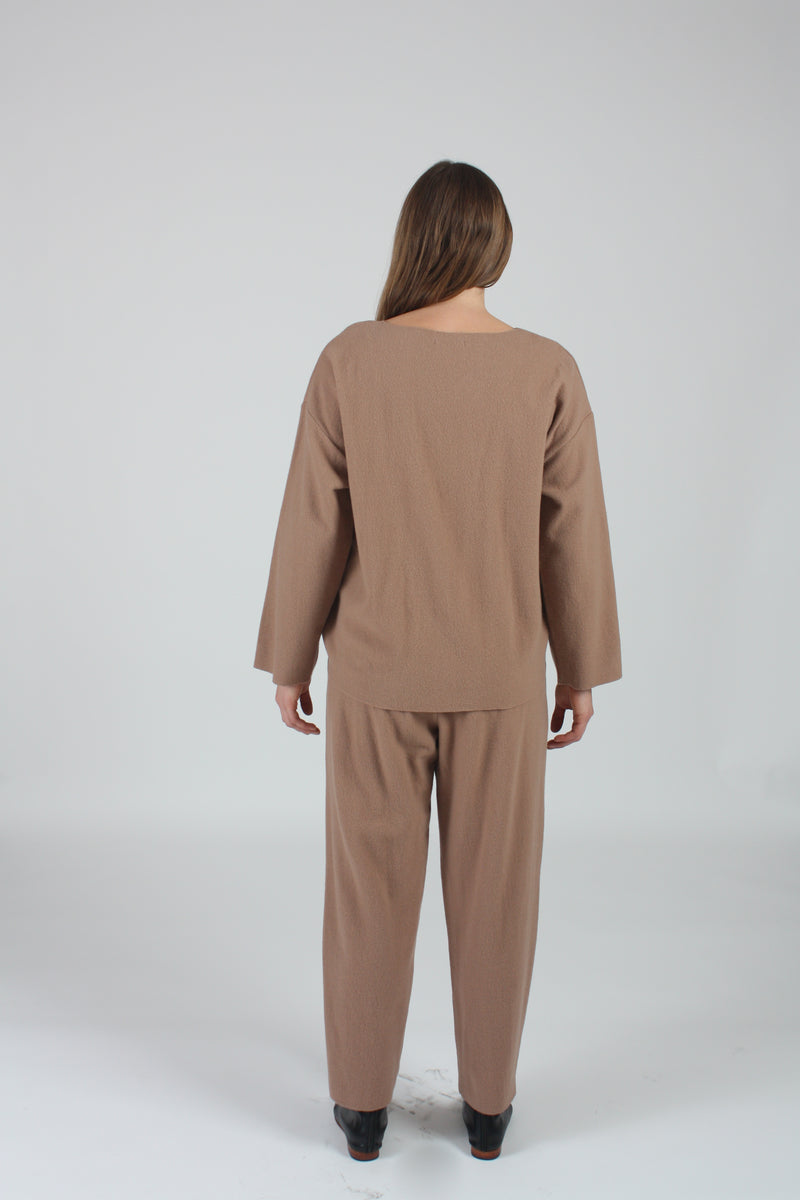 Pullover Camel Wool