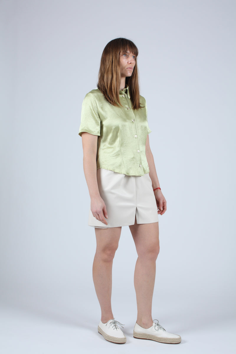 Clare Short Sleeve Lime