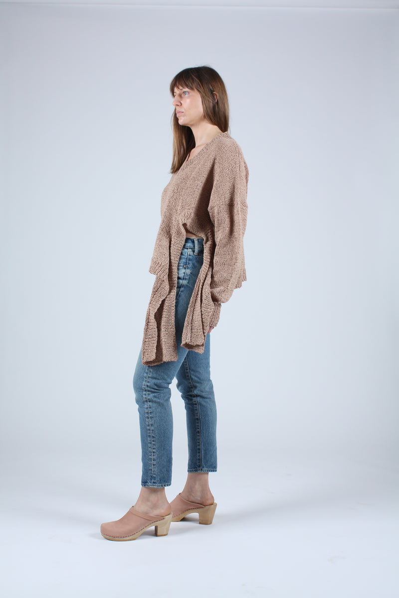 Anisah Sweater Faded Terracotta