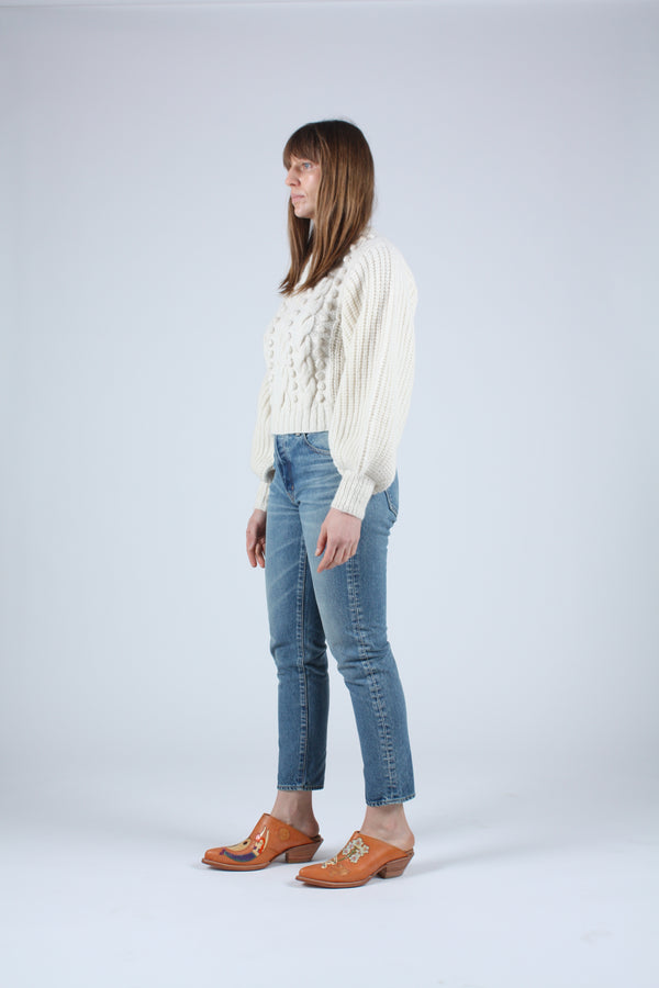 Charlotte Sweater Ivory