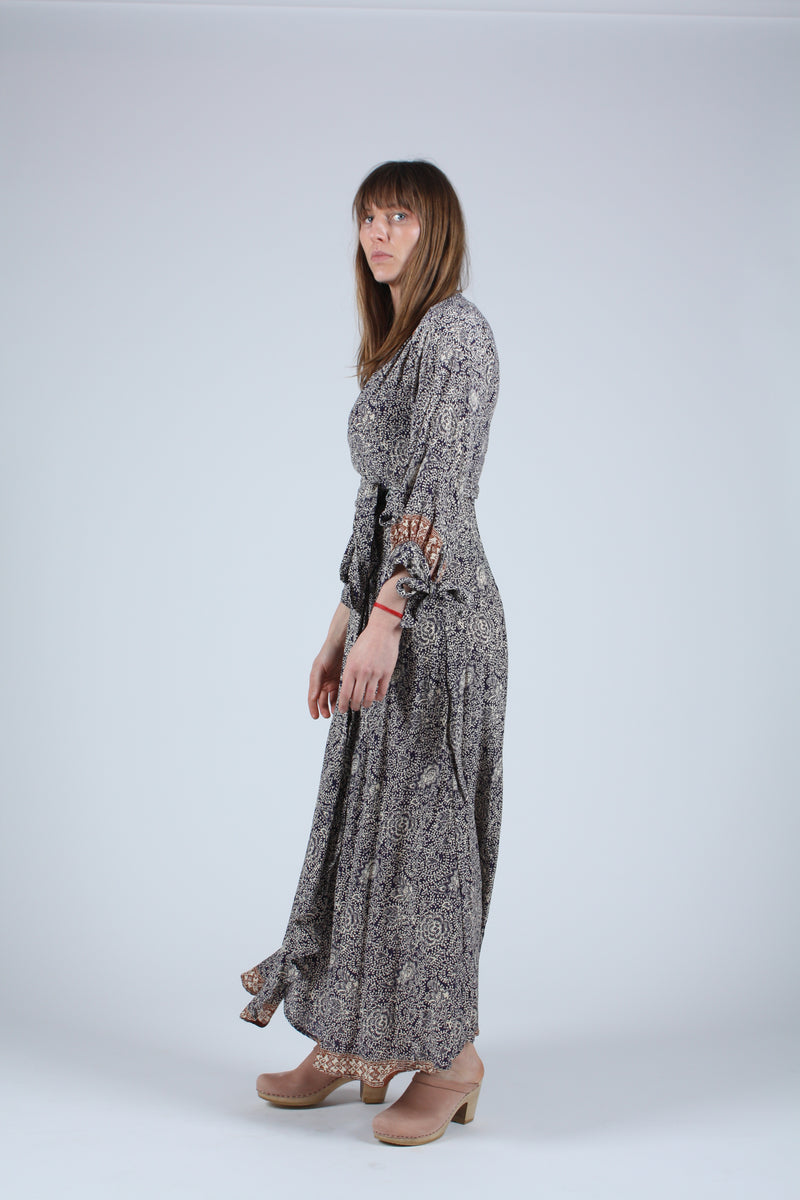 Danika Long Sleeve Dress Shangri-La Cortez