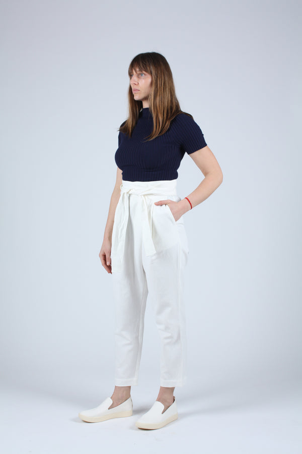 Isa Wrap Pant Cream