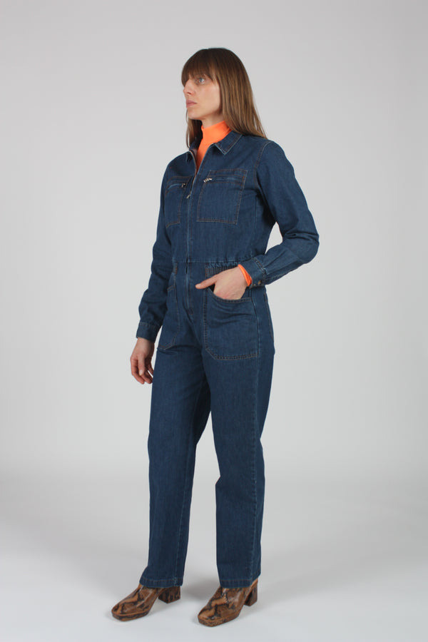 Danny Boilersuit Indigo