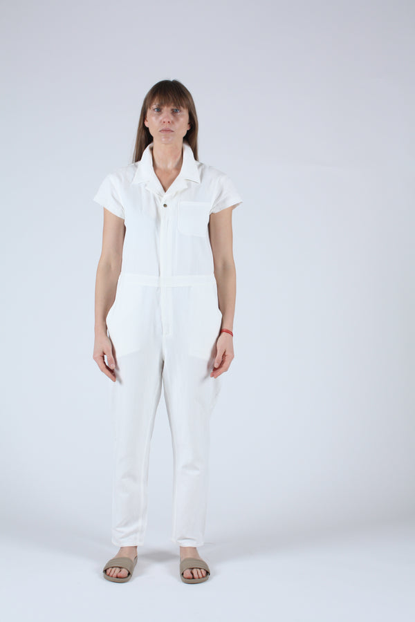 Azore Jumpsuit Cream