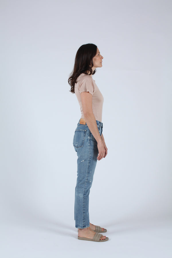 MVS Isabel Tapered Skinny Blue
